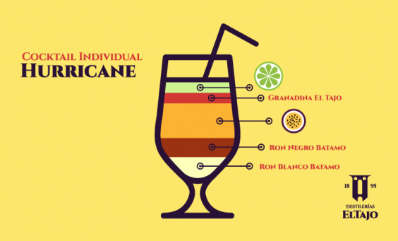 Cocktail Hurricane.